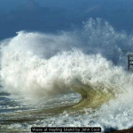 Wave at Hayling Island by John Cook