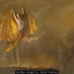 Golden Angel by Janet Haines