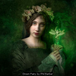 Green Fairy by Phil Barber