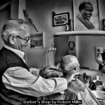 Barber's Shop by Robert Millin