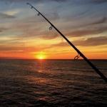 Sunset Fishing by Freya Lewin