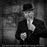 Barclays Bank Manager by Alan Young, RR Derby