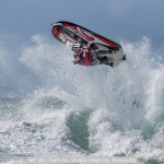 Jet Ski Turn by Sheila Haycox, Exmouth