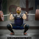 The 180kg Lift by David Keep, RR Derby