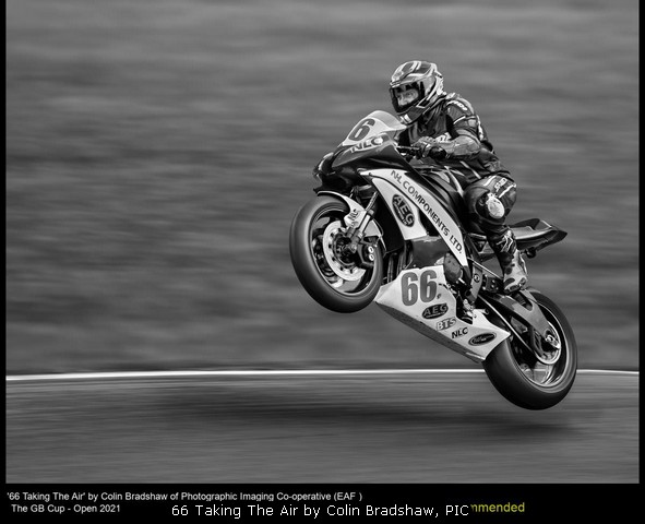 66 Taking The Air by Colin Bradshaw, PIC