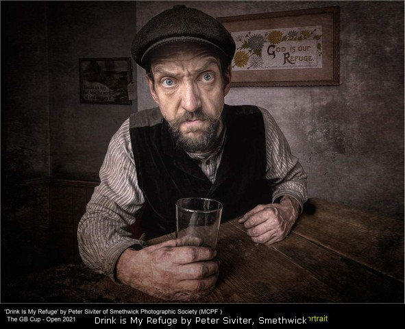 Drink is My Refuge by Peter Siviter, Smethwick