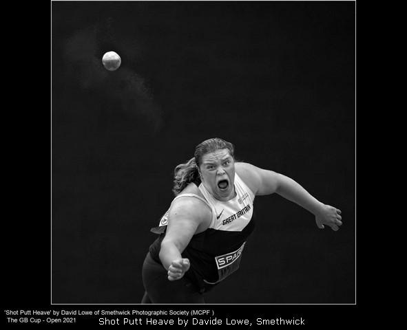 Shot Putt Heave by Davide Lowe, Smethwick