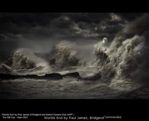 Worlds End by Paul James, Bridgend