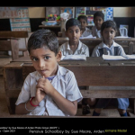 Pensive Schoolboy by Sue Moore, Arden