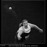 Shot Putt Heave by Davide Lowe, Smethwick