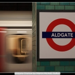Aldgate Station by Martin Michell, Reflex