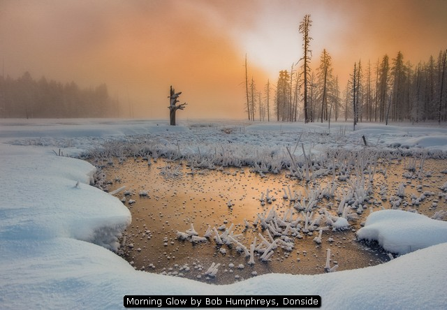 Morning Glow by Bob Humphreys, Donside