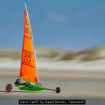 Sand Yacht by David Bowen, Tamworth