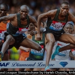 Diamond League Steeplechase by Harish Chavda, Arden PG