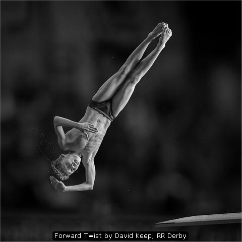 Forward Twist by David Keep, RR Derby