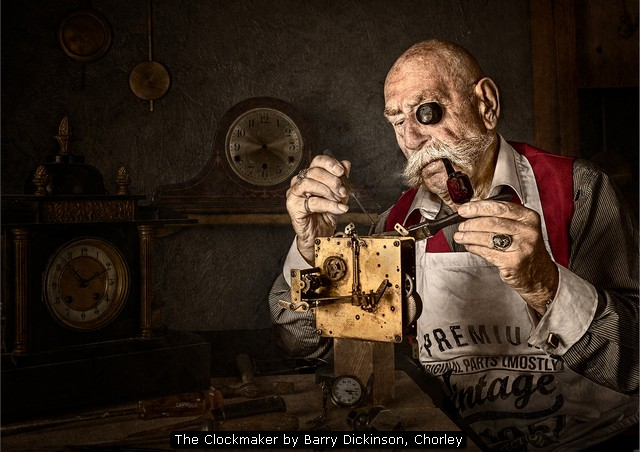 The Clockmaker by Barry Dickinson, Chorley