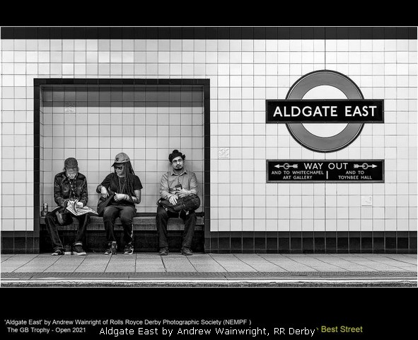 Aldgate East by Andrew Wainwright, RR Derby