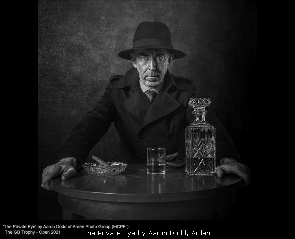 The Private Eye by Aaron Dodd, Arden