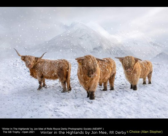 Winter in the Highlands by Jon Mee, RR Derby