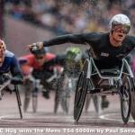 Hug wins the Mens T54 5000m by Paul Sanwell, Cambridge