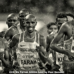 Mo Farrah 5000m Heat by Paul Sanwell, Cambridge