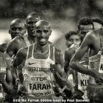 Mo Farrah 5000m Heat by Paul Sanwell, Cambridge