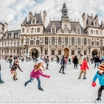 Skating at the Hotel de Ville by Ann Miles, Cambridge