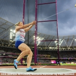 Sophie Hitchon Womens Hammer by Paul Sanwell, Cambridge