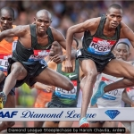 Diamond League Steeplechase by Harish Chavda, Arden