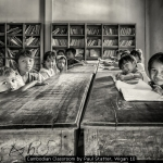 Cambodian Classroom by Paul Statter, Wigan 10