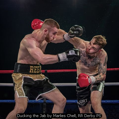 Ducking the Jab by Marlies Chell, RR Derby PS