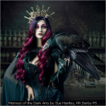 Mistress of the Dark Arts by Sue Hartley, RR Derby PS