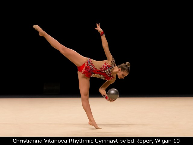 Christianna Vitanova Rhythmic Gymnast by Ed Roper, Wigan 10