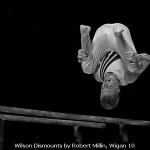 Wilson Dismounts by Robert Millin, Wigan 10