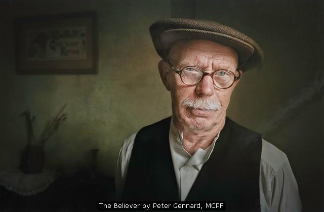 The Believer by Peter Gennard, MCPF