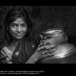 Girl with Water Pot, Kolkata by Chrissie Westgate, Beyond Group