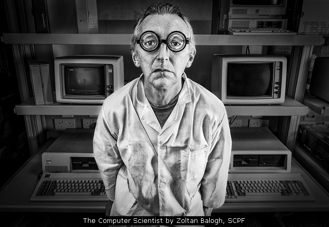 The Computer Scientist by Zoltan Balogh, SCPF