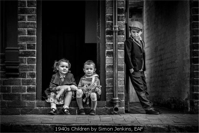 1940s Children by Simon Jenkins, EAF