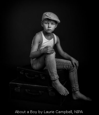 About a Boy by Laurie Campbell, NIPA