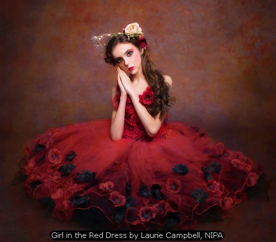 Girl in the Red Dress by Laurie Campbell, NIPA