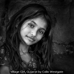 Village Girl, Gujarat by Colin Westgate