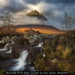 Buchaille Etive Mor Autumn by Ray Grace, Nonpareil
